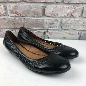 Black Flats Size 11